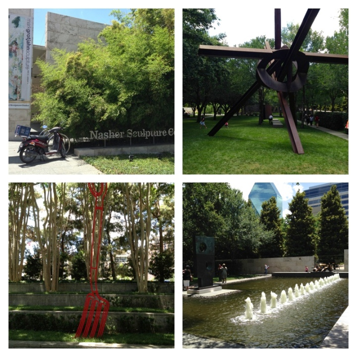 A few snapshots of the Nasher Sculpture Museum and Gardens in downtown Denver.