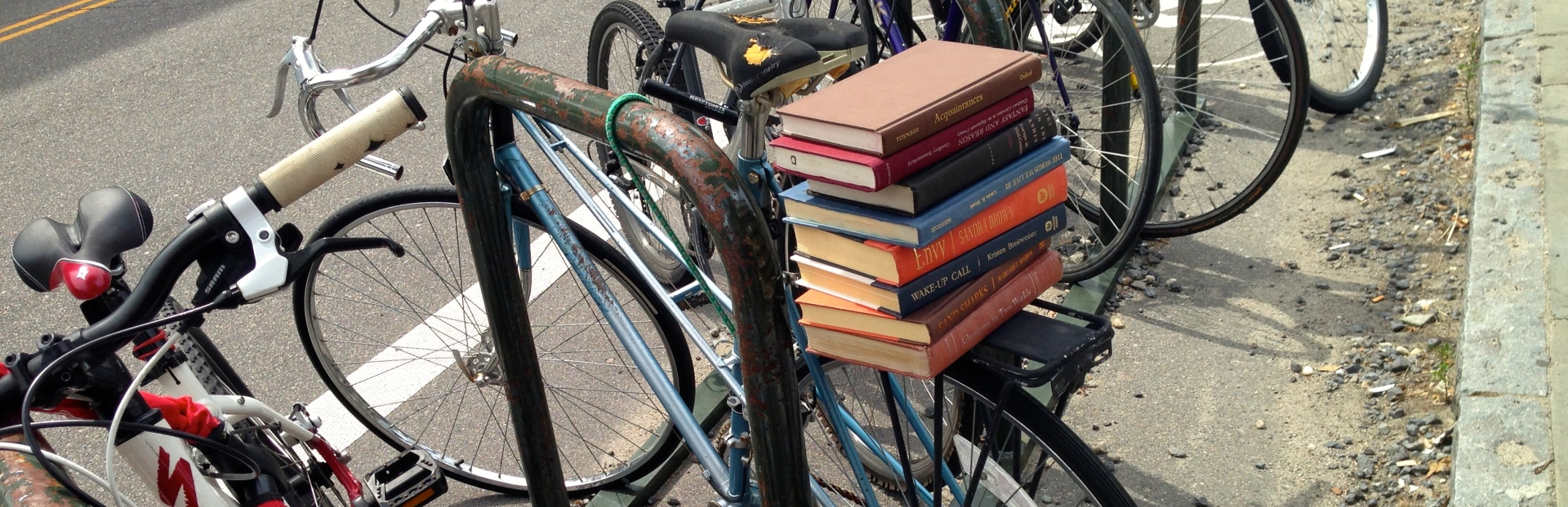 Books on Bicycle - Ready for adventure?