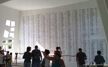 Names USS Arizona Memorial