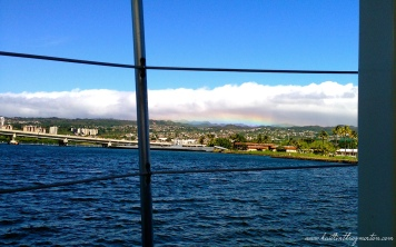 Rainbow USS Arizona Memorial