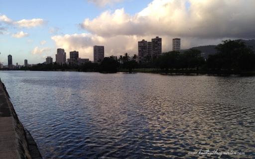 Ala Wai Canal Honolulu Hawaii