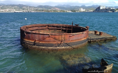 Pearl Harbor USS Arizona Smokestack