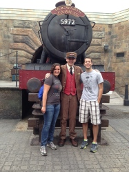 With the Conductor of the Hogwarts Express