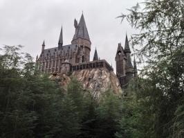 A lifetime dream come true ... going inside Hogwarts!