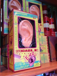 Extendable Ears at Weasley's Wizard Wheezes