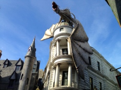 The Dragon Looming Over Gringotts