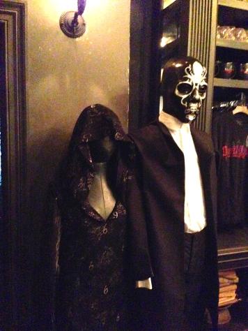 Death Eater Attire at Borgin and Burkes