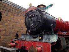 The Hogwarts Express Arriving in Hogsmeade