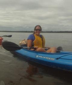 Kayaking in Wilmington.