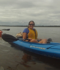 Kayaking in Wilmington.