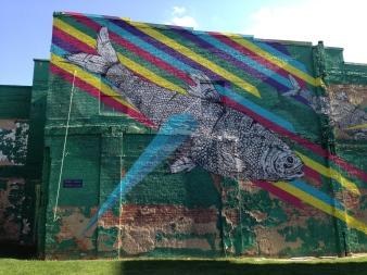 A wacky mural I found on a random around-town adventure.
