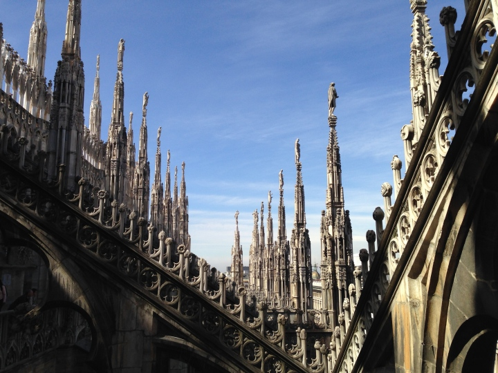 Duomo di Milano Terrace 1