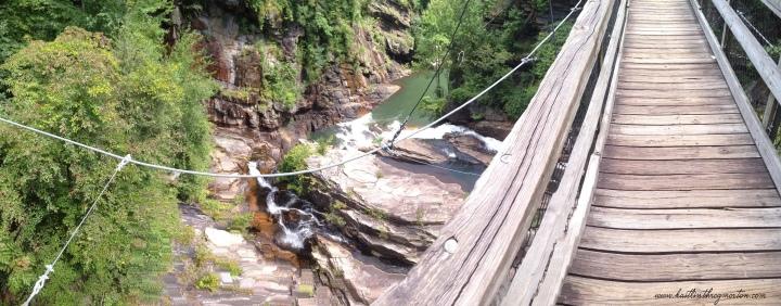 Tallulah Gorge State Park - Georgia - Suspension Bridge