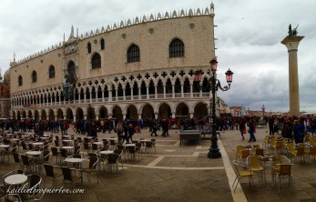 Palazzo Ducale, the Doge's Palace in San Marco Square. The Doge was the ruler of Venice.