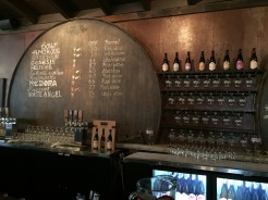"""All the """"funky"""" beers on tap at Wicked Weed Funkatorium, which mostly serves up sours."""