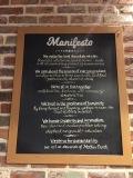 The Lounge's Manifesto on chocolate.