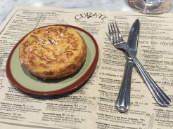 Tortilla española at Asheville's Cúrate.