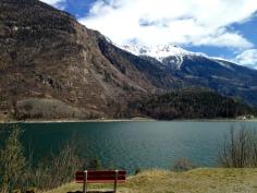 Again, Poschiavo Lake.